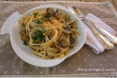 Linguine alle vongole in bianco