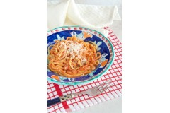 Spaghetti all'amatriciana rapidi e gustosi