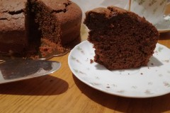 Torta al cioccolato fondente di nonna papera - Dark chocolate cake of grandma ducks
