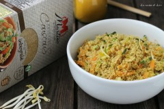 Couscous all'orientale vegetariano