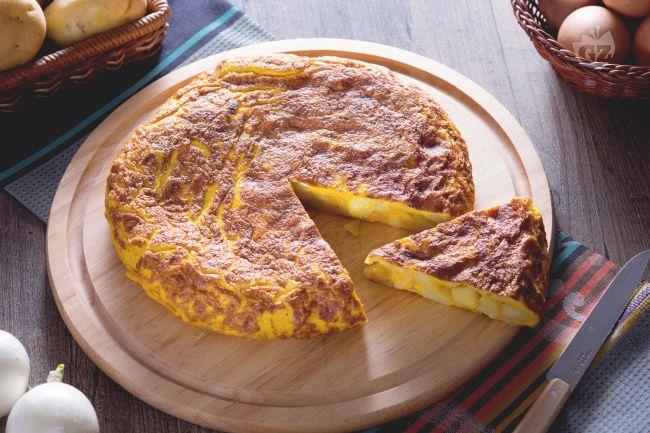 Ricetta Per Tortillas Spagnole.Ricetta Tortilla De Patatas La Ricetta Di Giallozafferano