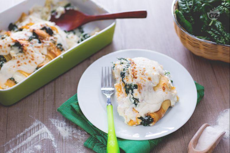 Crepe ricotta e spinaci