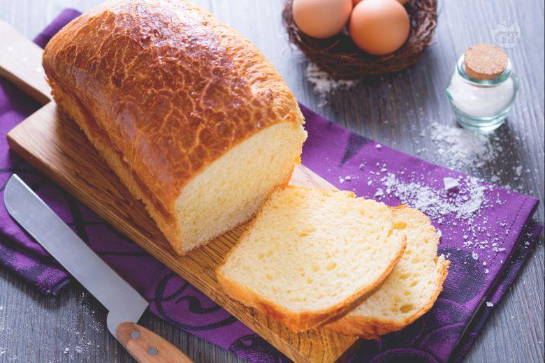 Pan brioche salato