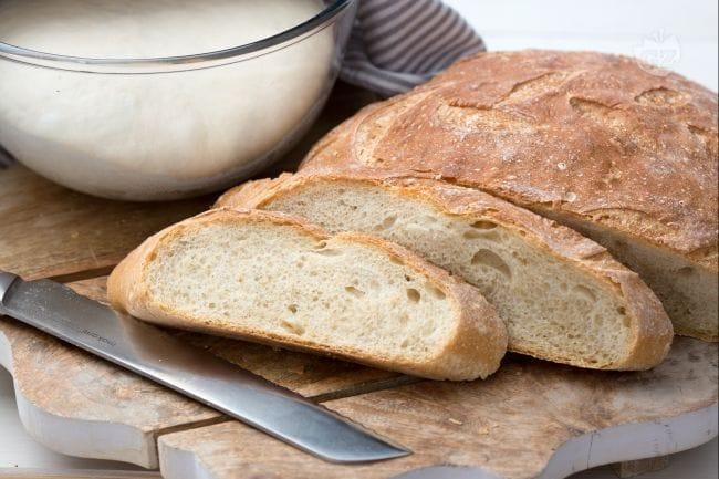 Ricetta Pane Giallo Zafferano.Pasta Per Il Pane La Ricetta Di Giallozafferano