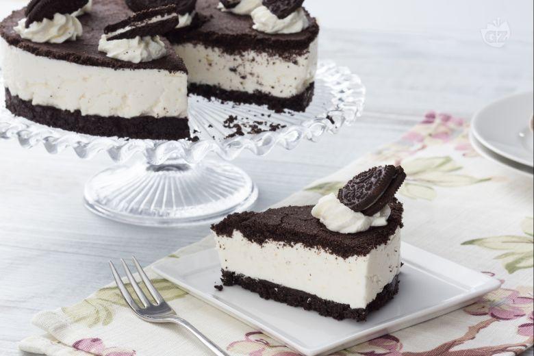 Ricetta Cheesecake Oreo Giallo Zafferano.Ricetta Torta Oreo La Ricetta Di Giallozafferano