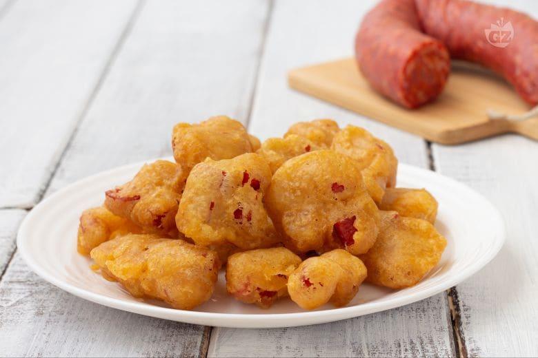 Frittelle al salame piccante