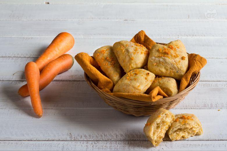 Bocconcini di pane alle carote