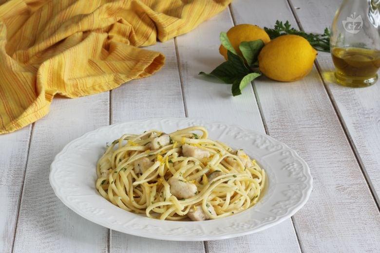 Linguine pesce spada e limone
