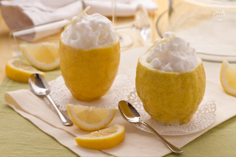 Sorpresa di sorbetto al limone e vodka