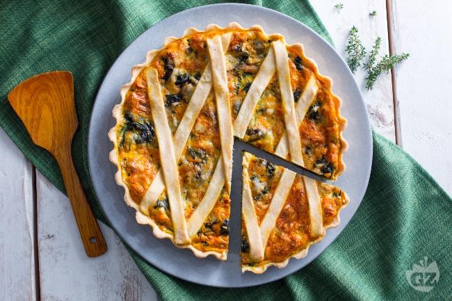Ricetta Torta Salata Con Spinaci Senza Ricotta.Ricetta Torta Salata Agli Spinaci La Ricetta Di Giallozafferano