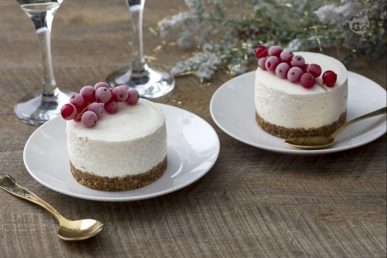 Cheesecake al prosecco