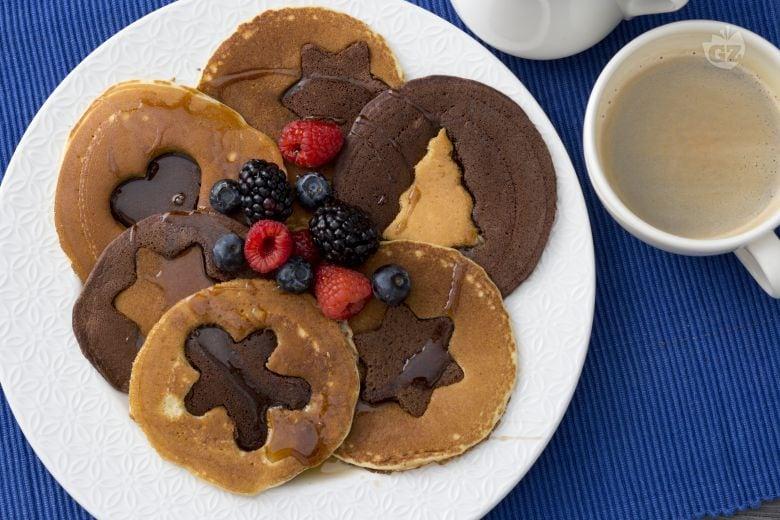 Pancake bicolore