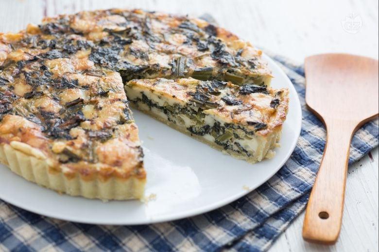 Torta salata con cavolo nero