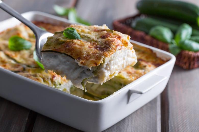 Ricette Zucchine Giallo Zafferano.Ricetta Lasagne Alle Zucchine La Ricetta Di Giallozafferano