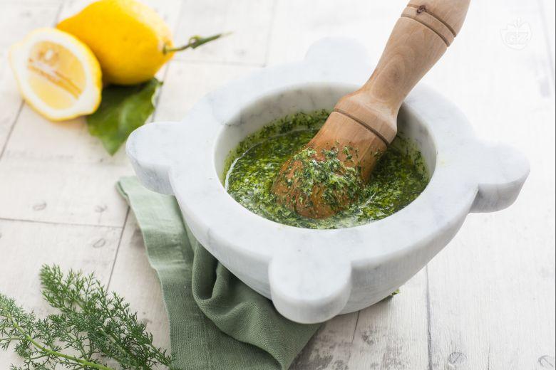 Pesto di finocchietto e zenzero