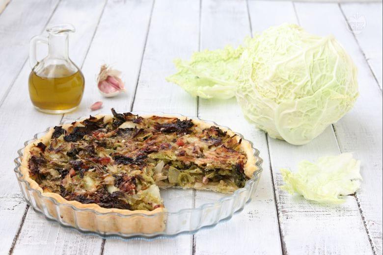 Torta salata alla verza