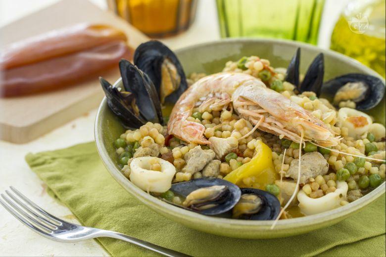 Paella algherese