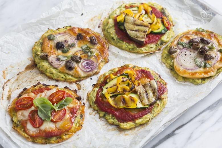 Pizzette di zucchine estive