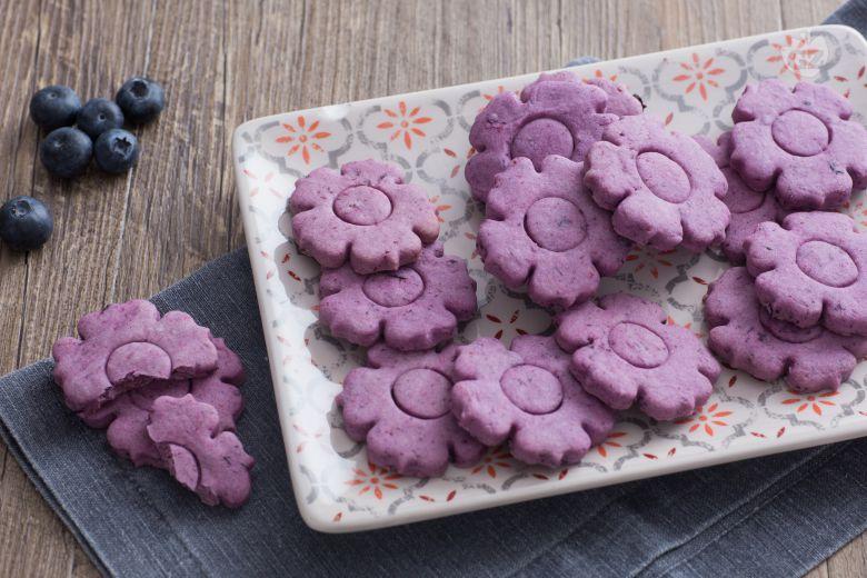 Biscotti ai mirtilli