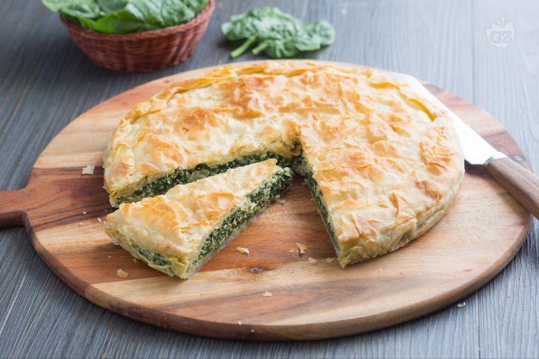 Burek con spinaci e ricotta