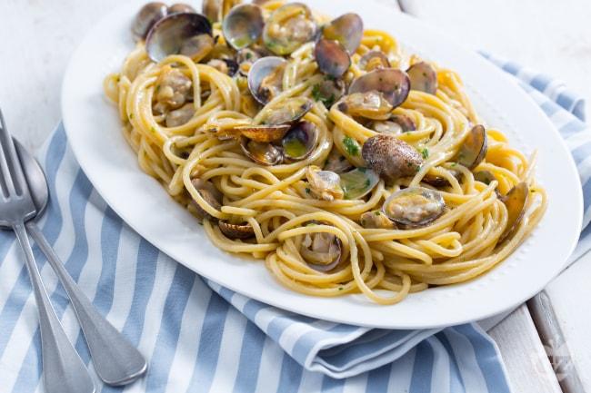 Ricetta Per Vongole.Ricetta Spaghetti Alle Vongole La Ricetta Di Giallozafferano