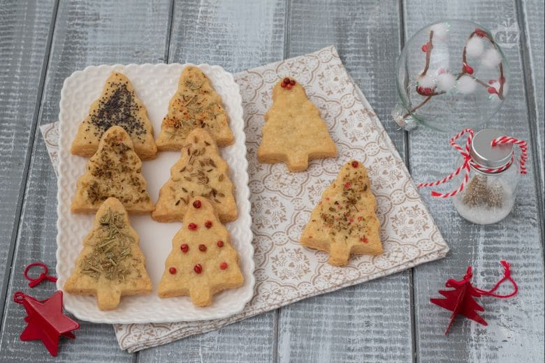 Biscotti salati di Natale