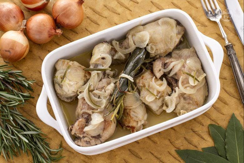 Pollo in fricassea