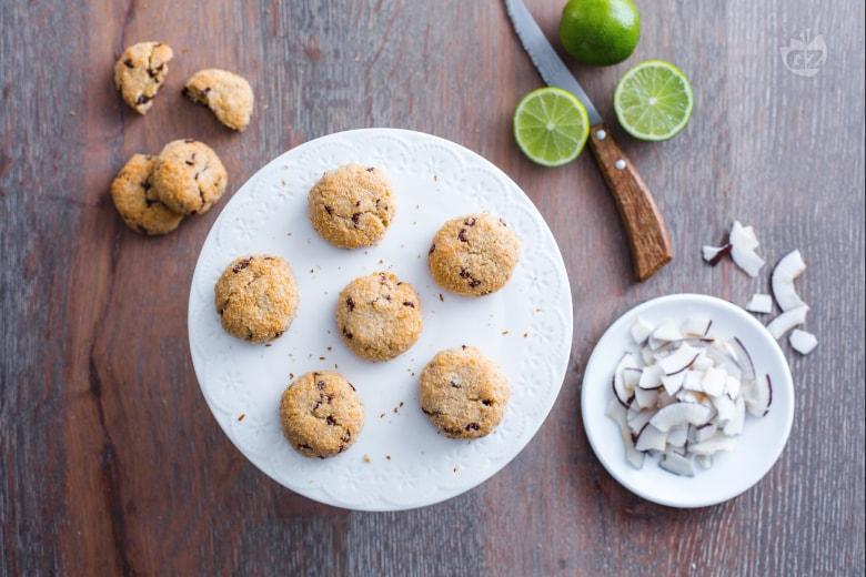 Cookies cocco e lime