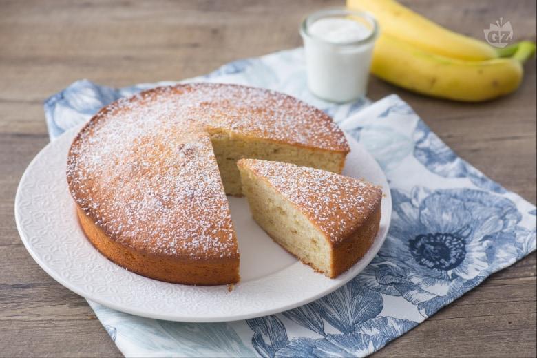 Torta banane e yogurt