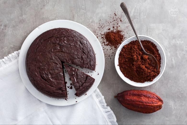 Torta ricotta e cacao