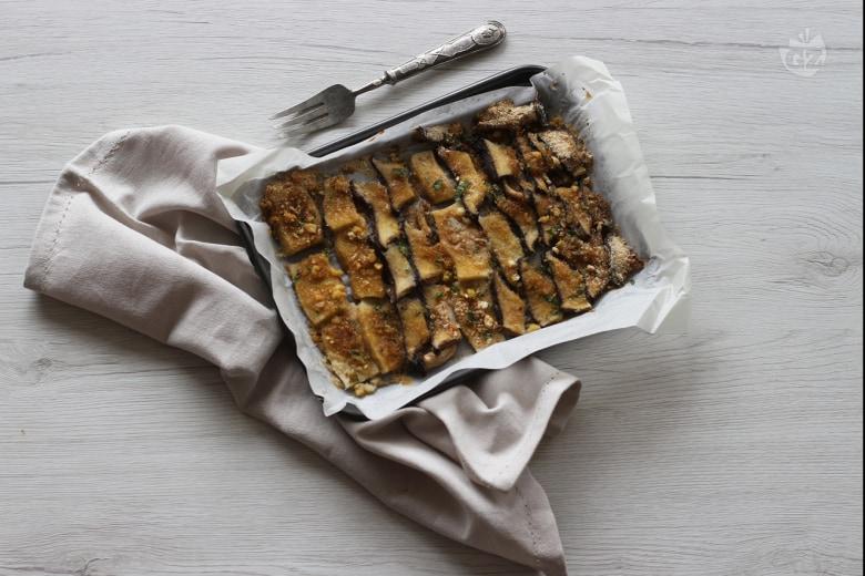 Funghi gratinati al forno