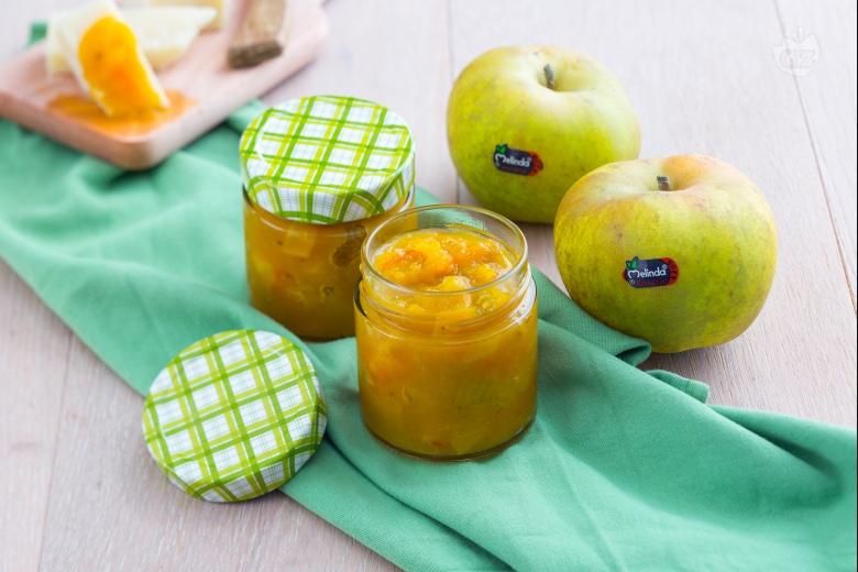 Chutney di mele allo zafferano