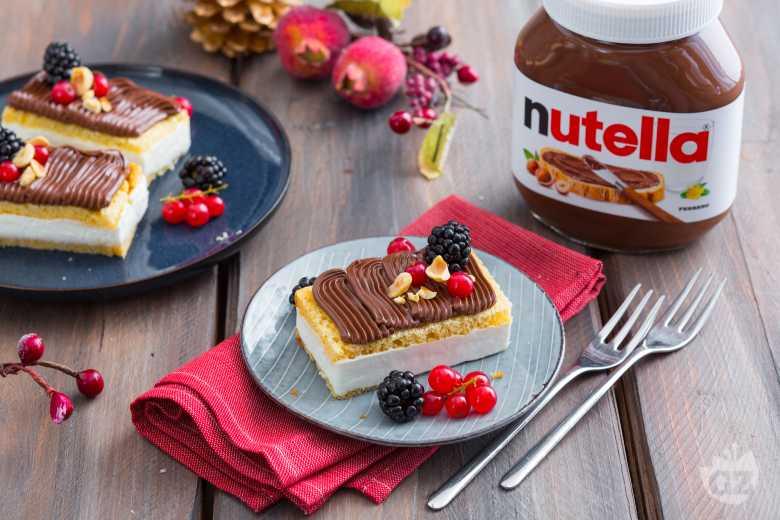 Lingotto di pandoro, yogurt e Nutella®