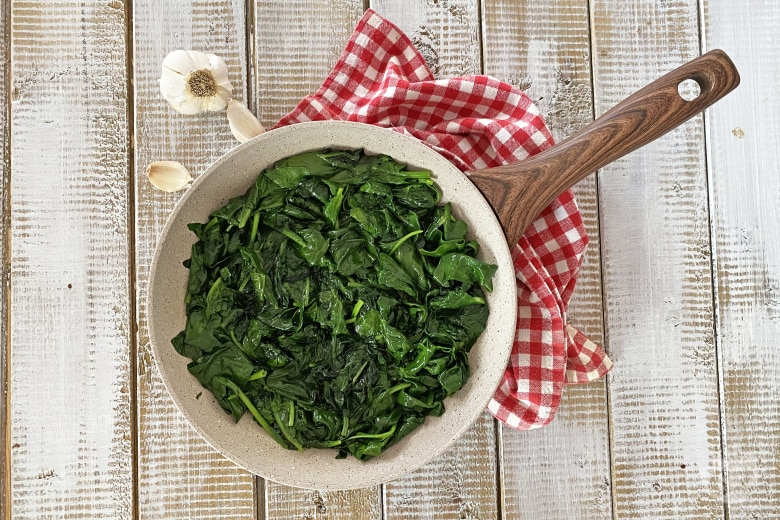 Spinaci in padella