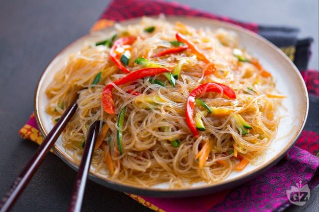 Ricetta Noodles Di Soia.Ricetta Spaghetti Di Soia La Ricetta Di Giallozafferano