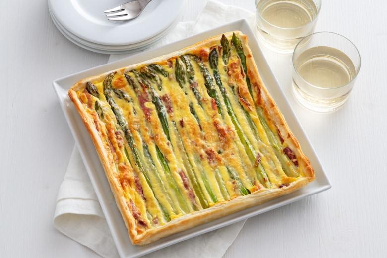 Quadrata agli asparagi