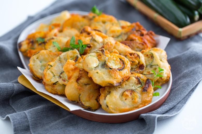 Frittelle di zucchine croccanti