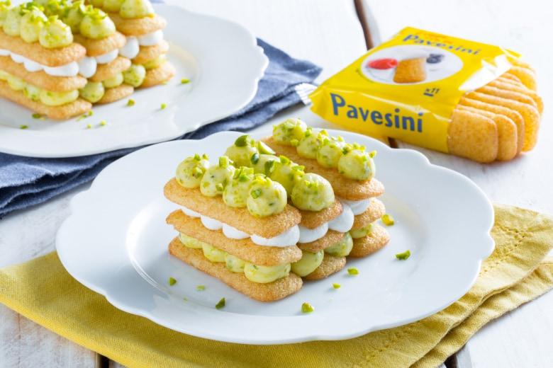 Millefoglie di Pavesini
