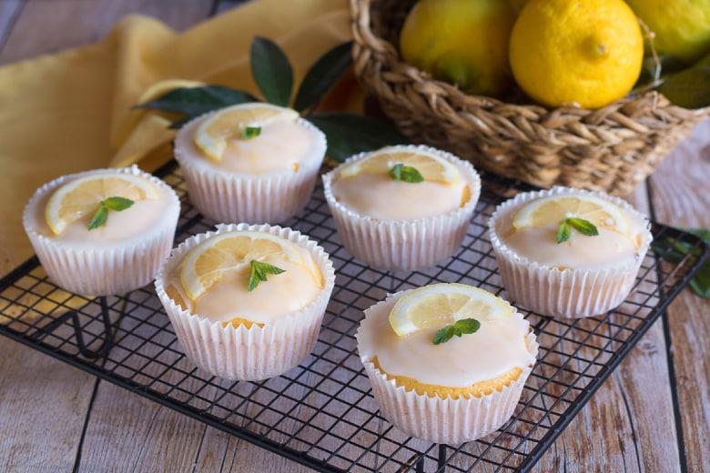 Muffin soffici al limone