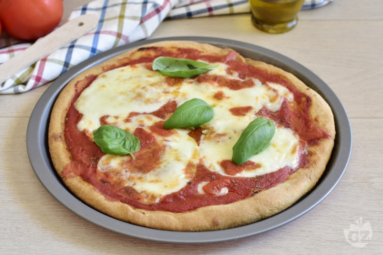 Pizza con bicarbonato