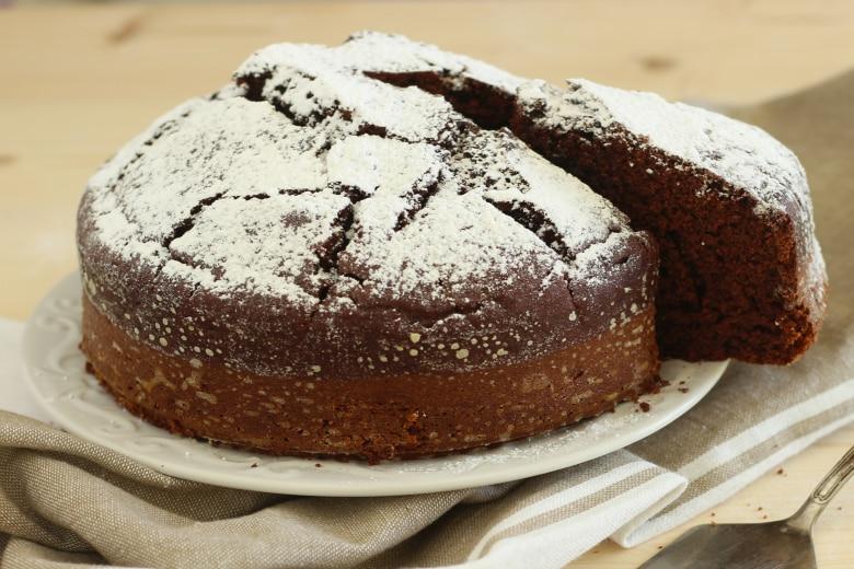 Torta soffice cioccolato e ricotta