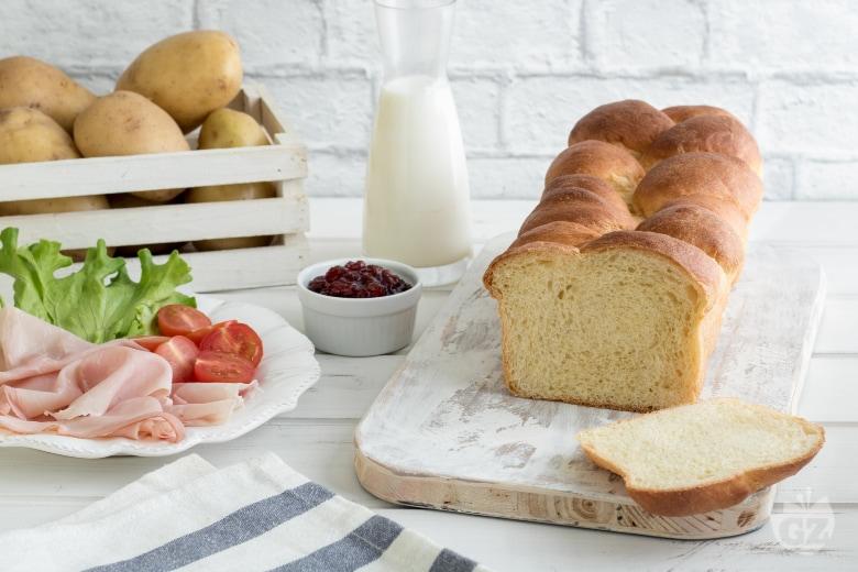 Pan brioche morbido alle patate