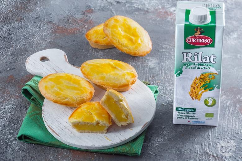 Pasticciotti con crema di riso