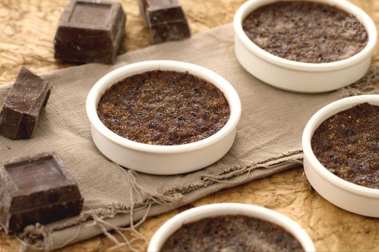 Creme brulée al cioccolato