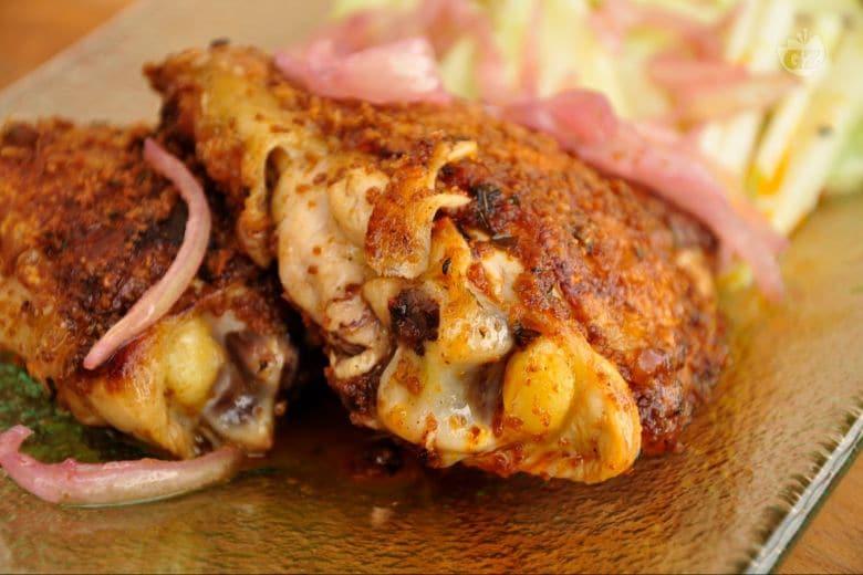 Rustichella di pollo in crosta di Pan Brioche