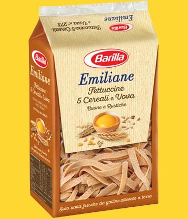 Vai alle ricette con Fettuccine 5 cereali e uova