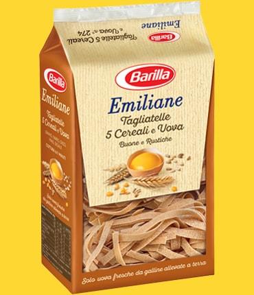 Vai alle ricette con Tagliatelle 5 cereali e uova