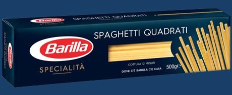 Vai alle ricette con Spaghetti Quadrati
