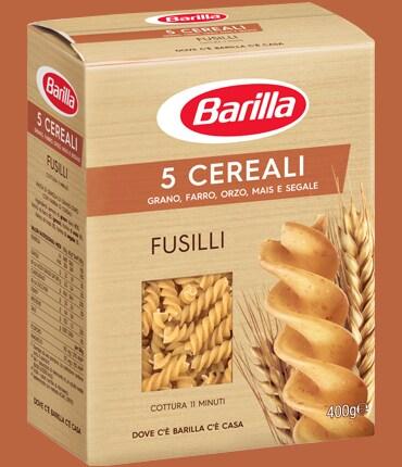 Vai alle ricette con Fusilli 5 cereali