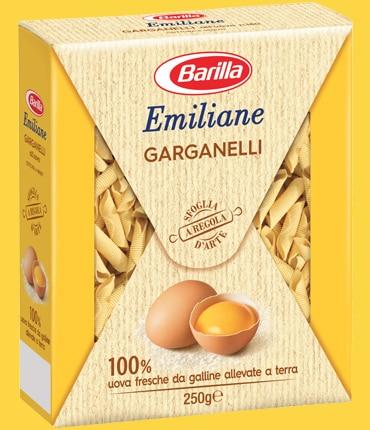 Vai alle ricette con Garganelli all'uovo